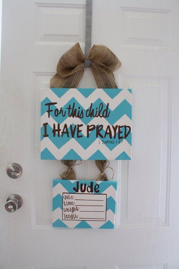 Best 25 baby door wreaths ideas on pinterest baby door for Baby boy door decoration