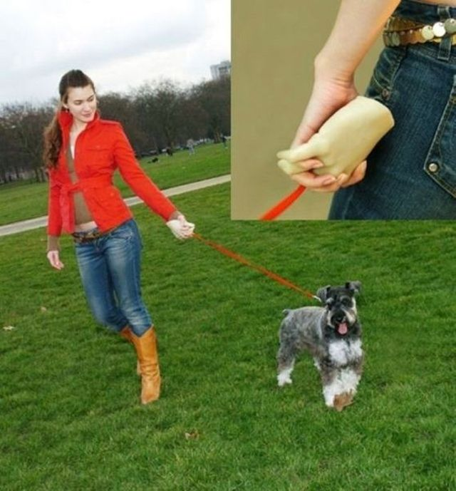 holding hands leash, dumb inventions, stupid inventions, inventions we don't need