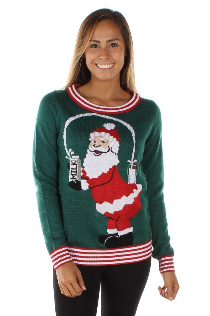 Women's Break the Internet Sweater   Tipsy Elves