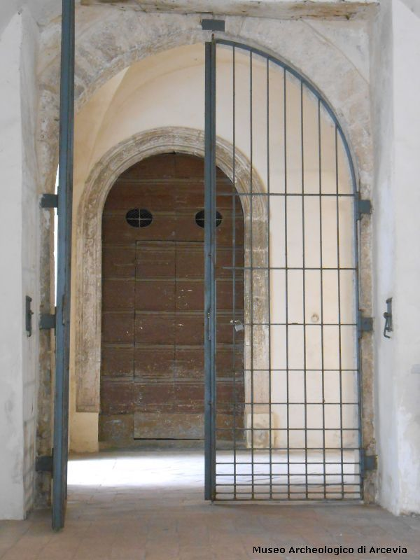 The cloister's gate - Arcevia - Marche - Italy