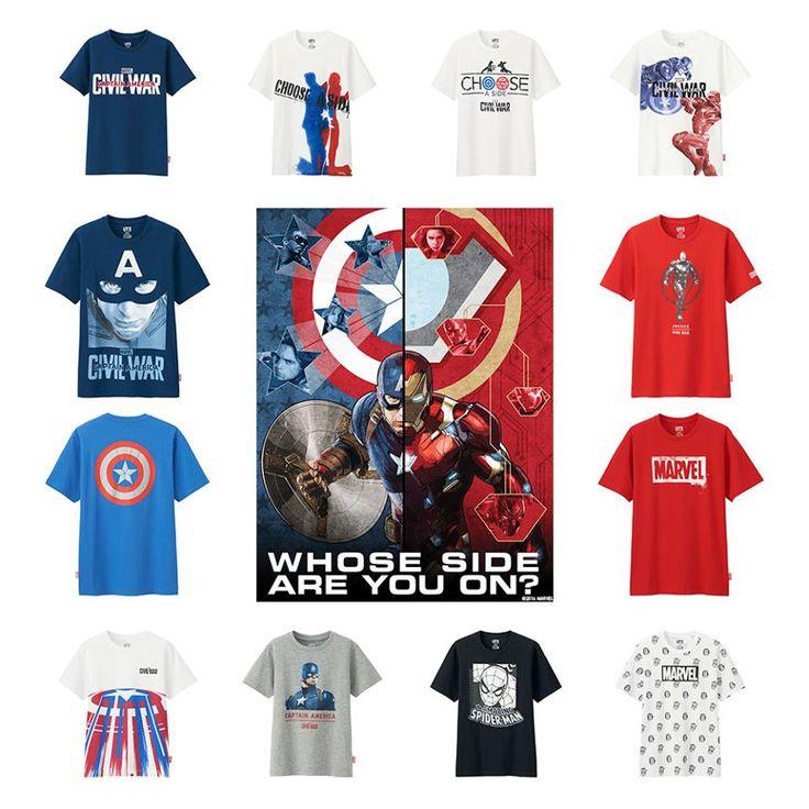CAPTAIN AMERICA: Civil War Uniqlo Clothes (Clothes)   Marvel DIY
