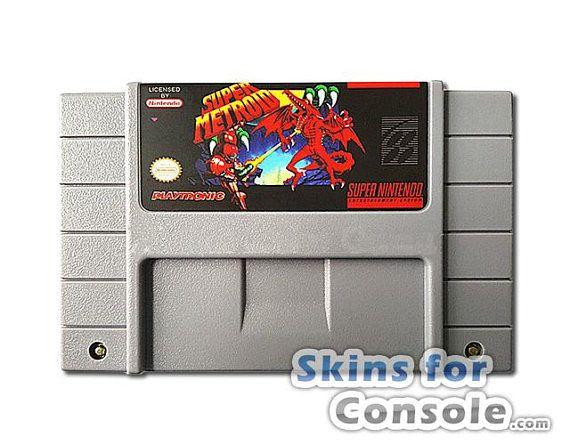Super Metroid Nintendo SNES repro Game cartridge card NTSC US