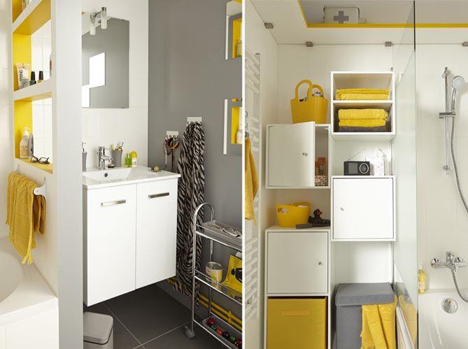 1000 id es sur le th me salles de bains jaunes sur. Black Bedroom Furniture Sets. Home Design Ideas