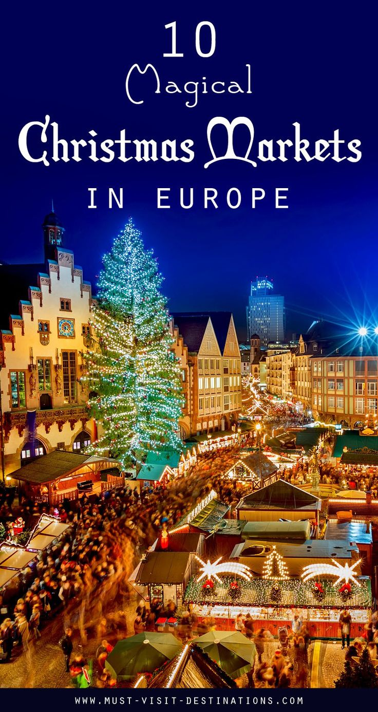 Places That Are Even Better During The Winter 10 Magical Christmas Markets in Europ You have to Visit #christmas #travel
