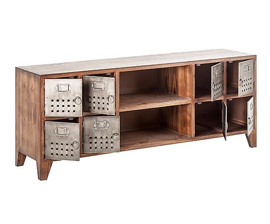 Mueble tv en madera de abeto proyecto muebles y for Proyecto de muebles de madera