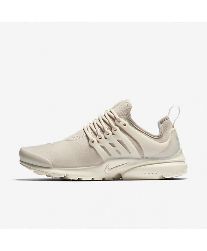 Nike Air Presto Premium Oatmeal White Womens Shoes & Trainers 70% Off Sale