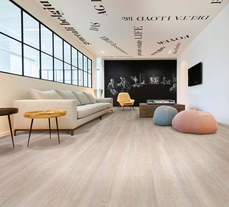 Verdon Oak 24232 - Wood Effect Luxury Vinyl Flooring - Moduleo