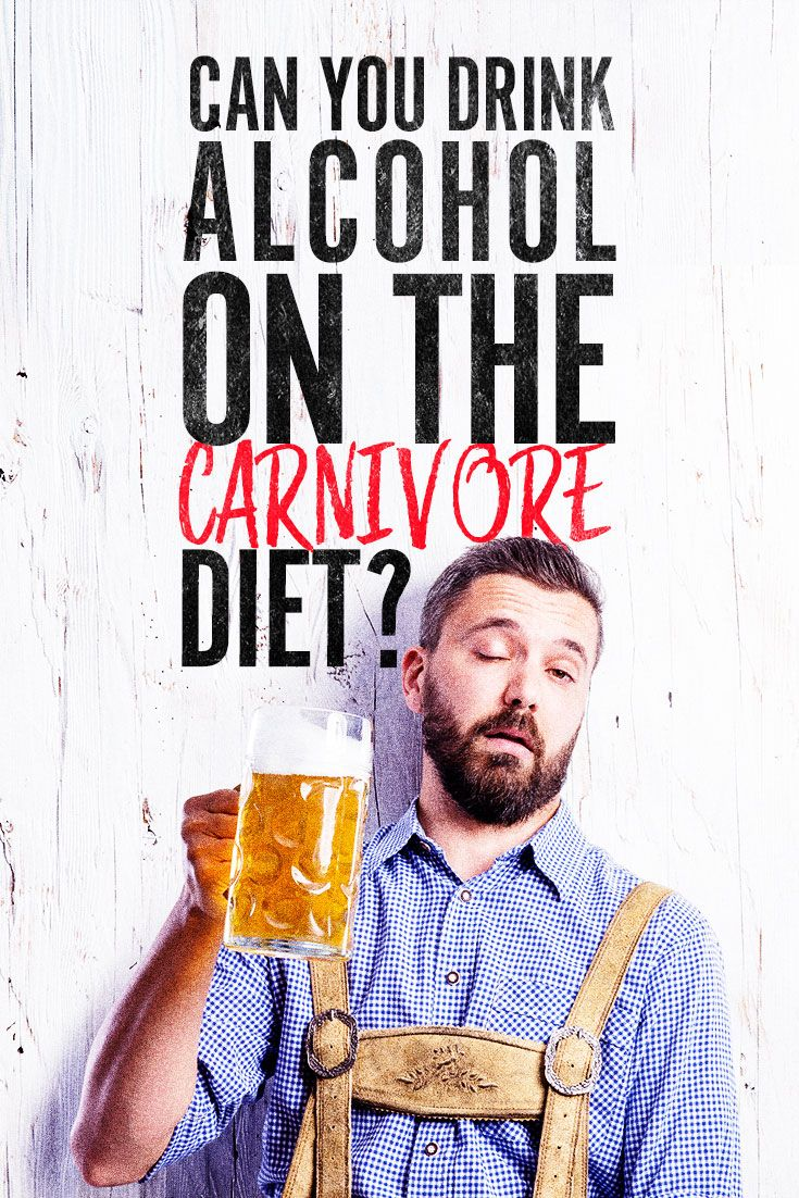 what to drink on a carnivor diet
