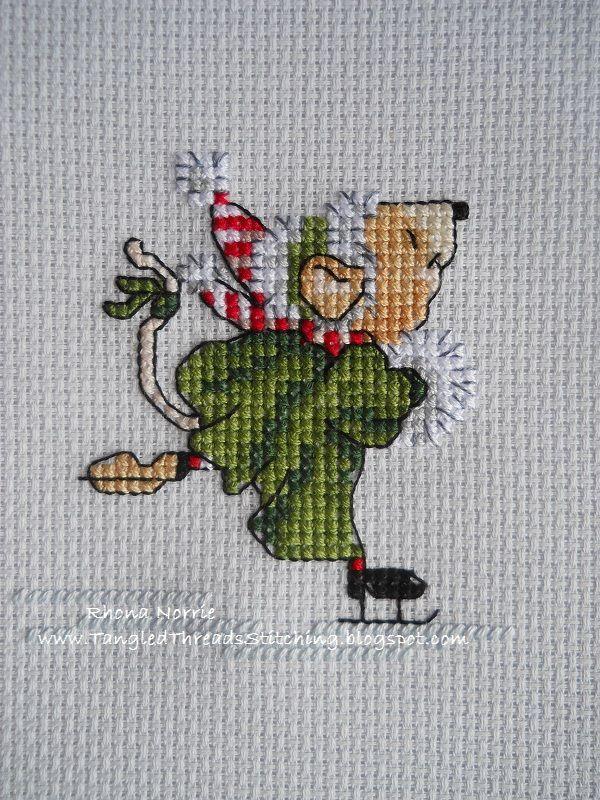 Image result for lindner's kreuzstich weihnachtsmann auf roller
