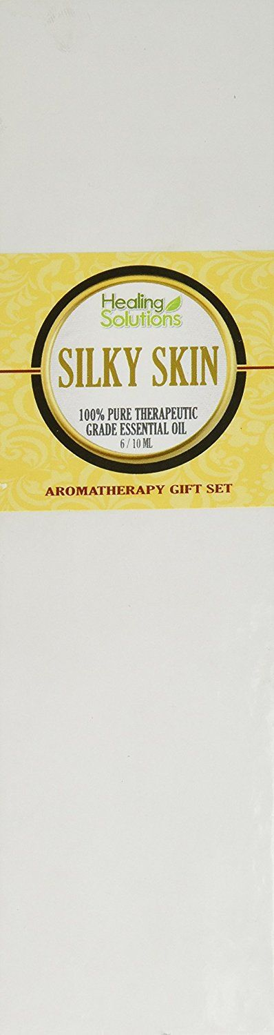 Essential Oil Set - Silky Skin Set 100% Pure, Best Therapeutic Grade Essential Oil Kit - 6/10mL (Carrot, Frankincense, French Lavender, Geranium, Myrrh, and Tea Tree) >>> Trust me, this is great! Click the image. : aromatherapy essential oils