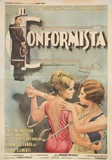 Posteritati: CONFORMIST, THE (Conformista, Il) 1971 Italian 55x79