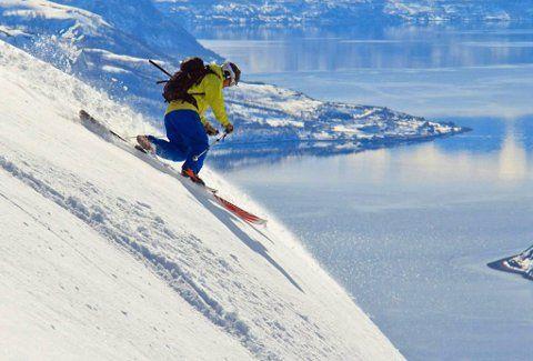 FRISK LUFT I NESA: Topptur i Langfjord Finnmark. Alta Norway.