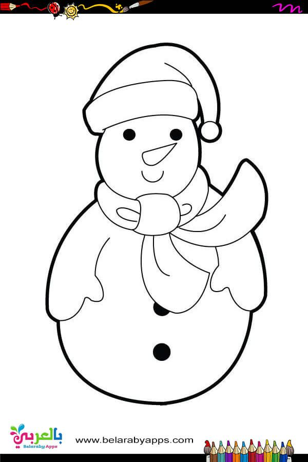 Free Printable Snowman Coloring Pages For Kids Belarabyapps In