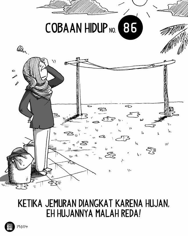 Komik Biebo: Cobaan Hidup No.86 by Komik Biebo