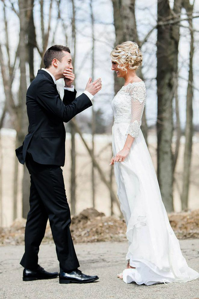 11 best First Look images on Pinterest Wedding pictures Weddings