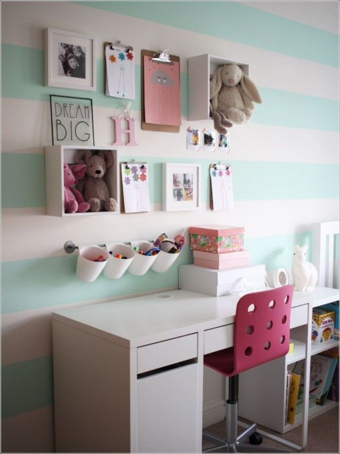 cute girl bedroom decoration idea 58 - Ideas For Girls Room Paint
