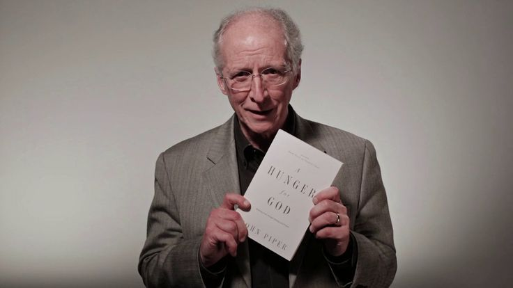 John Piper introduces his book 'A Hunger for God: Desiring God through Fasting and Prayer'