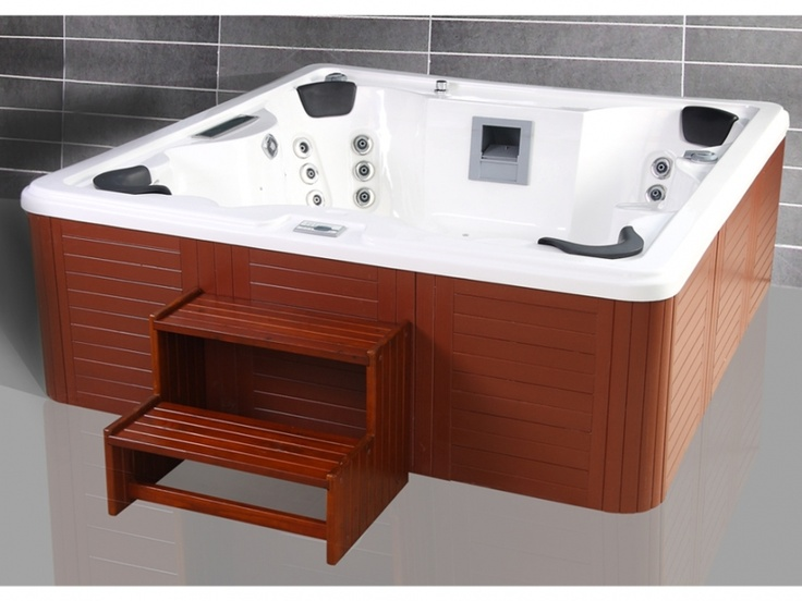 spa 6 personnes poseidon ii blanc perl bien tre. Black Bedroom Furniture Sets. Home Design Ideas