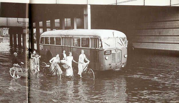 Geheugen van Oost - Watersnood in 1953 en 1960