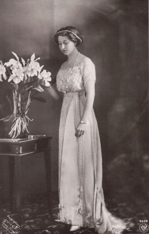 Princess Viktoria Luise of Prussia. Early 1910s.