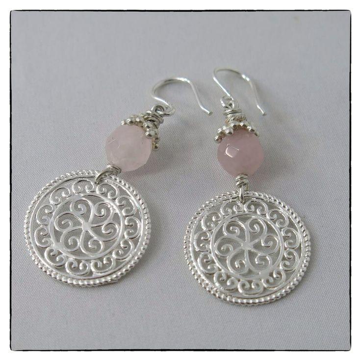 Ohrringe aus Sterling Silber