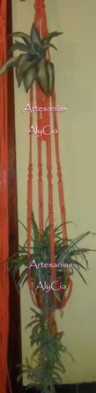 1000 ideas sobre porta macetas colgantes en pinterest - Porta macetas colgantes ...
