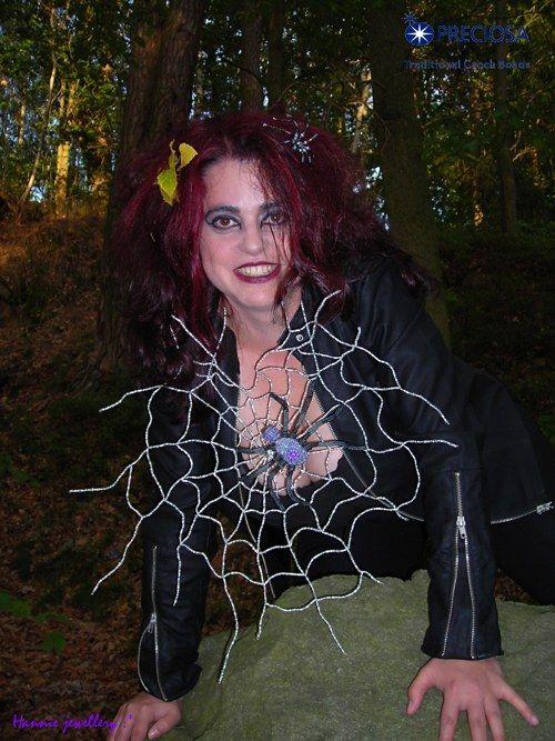 Spider Martin by Hannie jewellery http://hanniejewellery.cz/