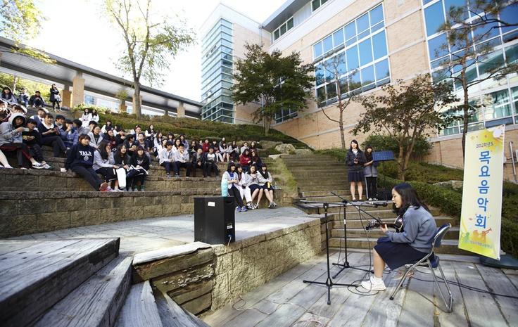 청심국제중고등학교의 목요음악회