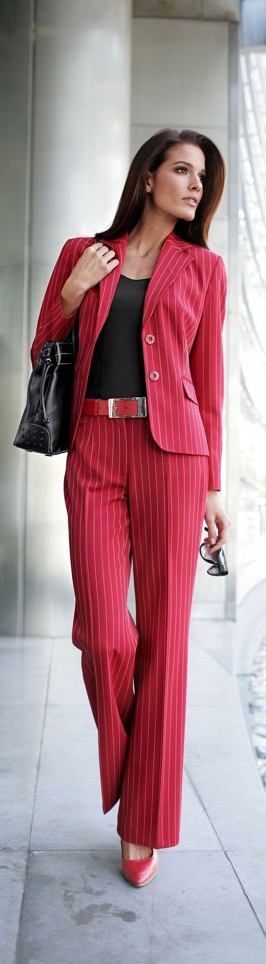 ☆ ℒℴvℯ ☆ pinstripe red