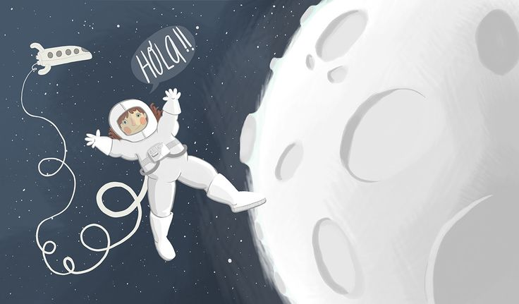 Hello from the Space!. on Behance