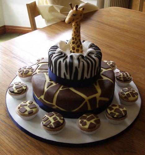 giraffe cake by andrea@eatmycake.biz, via Flickr