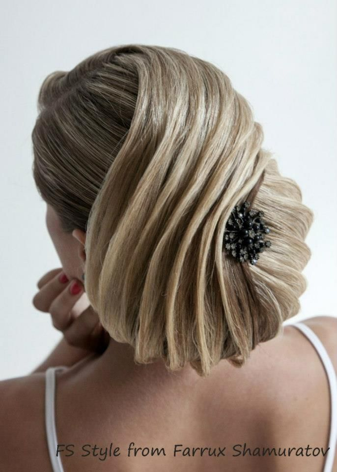 hairstyle by Farrux Shamuratov