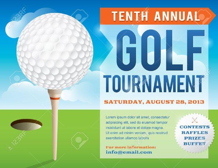 free golf tournament flyer template akba greenw co