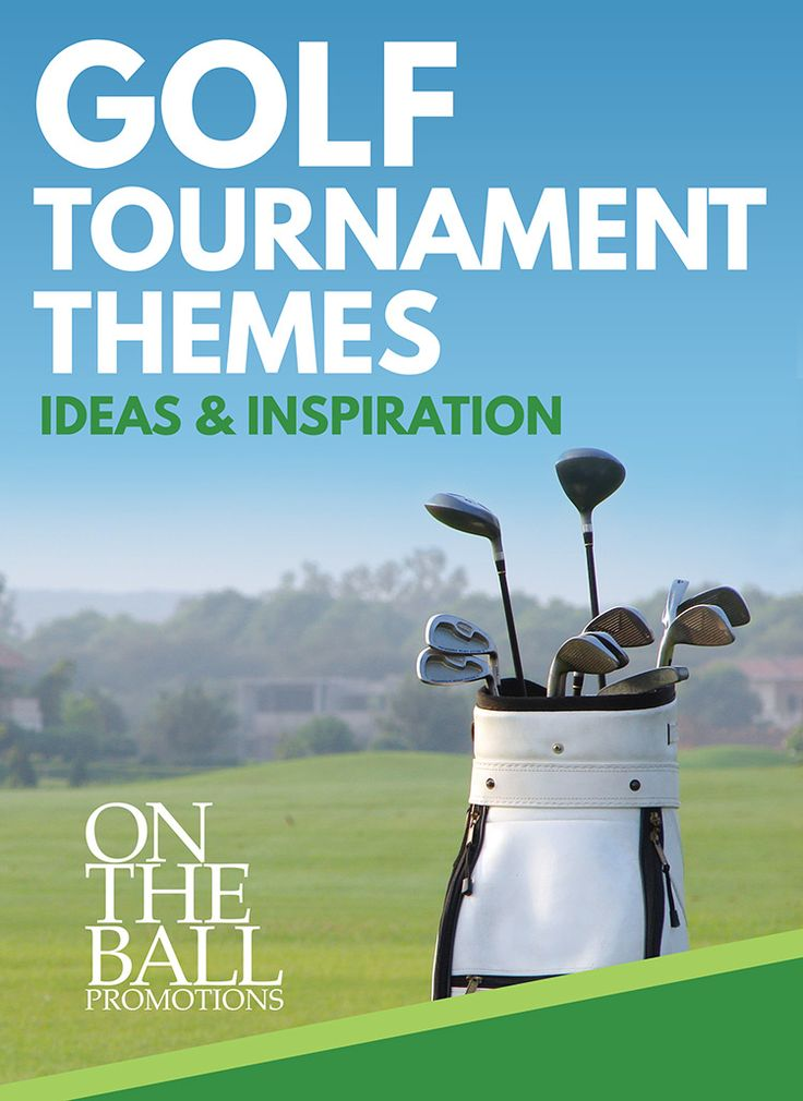 Graphic Design, Page Design, Copywriting \\\ 30+ ideas for golf tournaments, fundraisers, and events, from On The Ball Promotions