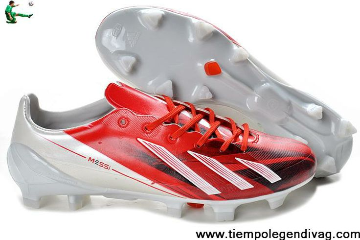 Discount adidas F50 adizero TRX FG TPU LEA Bundle - Red White For Sale