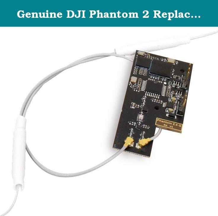 Genuine DJI Phantom 2 Replacement Part # 5 2.4Ghz Receiver (For Phantom 2 Only). Genuine DJI Phantom 2 Replacement Part # 5 2.4Ghz Receiver (For Phantom 2 Only).