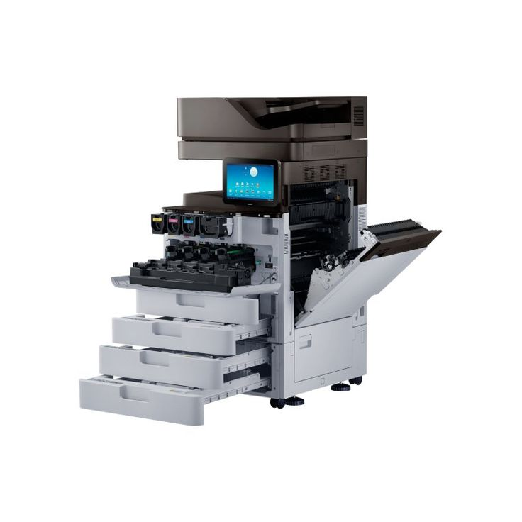 Samsung SL-X7400GX A3 colour multifunction print, copy, scan, optional fax 40 pages per minute X7 colour series
