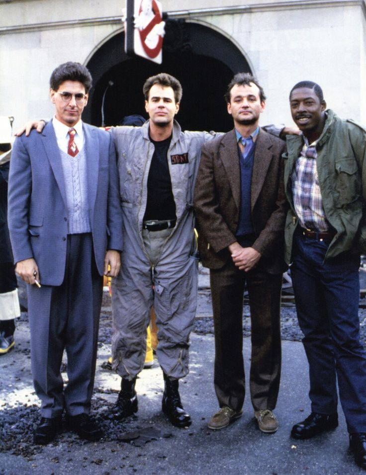 Lookin' young guys! #Ghostbusters (1984).