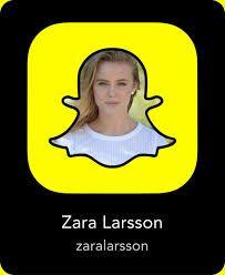 Zara Larsson Snapchat Name - What is Her Snapchat Username & Snapcode?  #snapchat #ZaraLarsson http://gazettereview.com/2017/09/zara-larsson-snapchat-name-snapchat-username-snapcode/