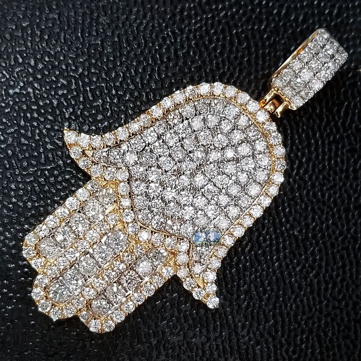 Pendants for men 214 pinterest featuring mens 351 carat diamond hamsa hand pendant in yellow gold from the recent collection mozeypictures Gallery