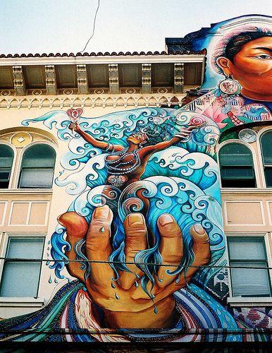 street art - yemaya. Use the world as your canvas