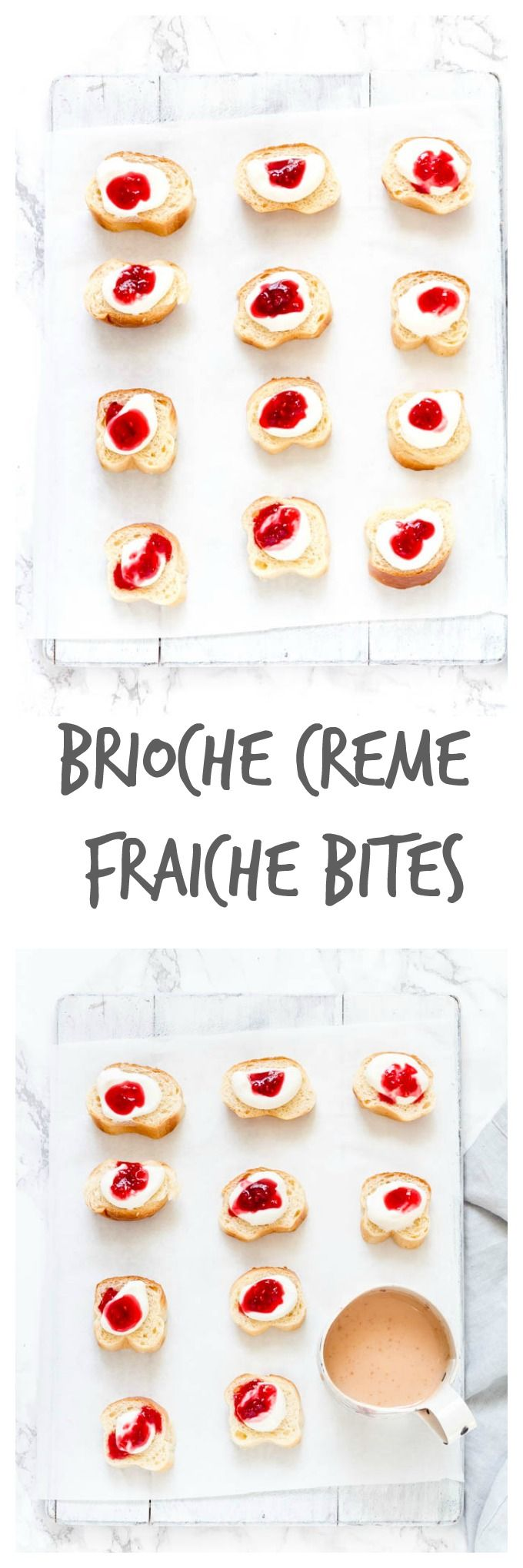 Brioche Creme Fraiche Bites   Recipes From A Pantry