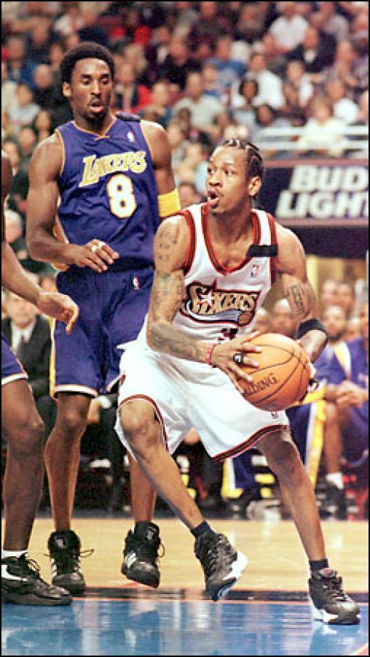 Allen Iverson & Kobe Bryant