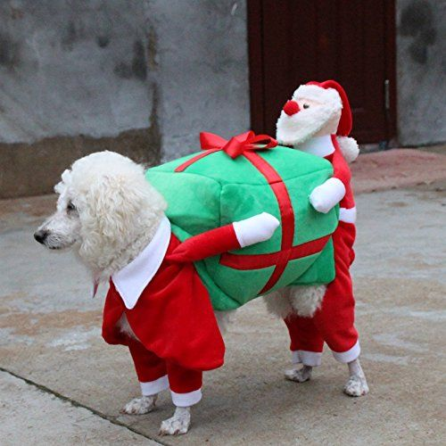 Lxlp New Version Pet Costumes For Dogs Puppy Apparel For Santa