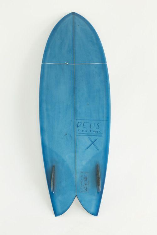 Deus Custom Fish Blue Tint