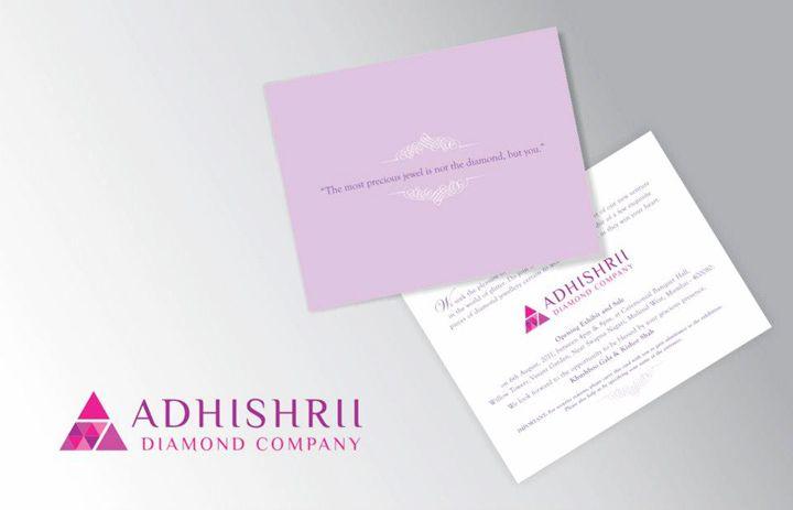 Adhishrii Diamond Company - Invitation