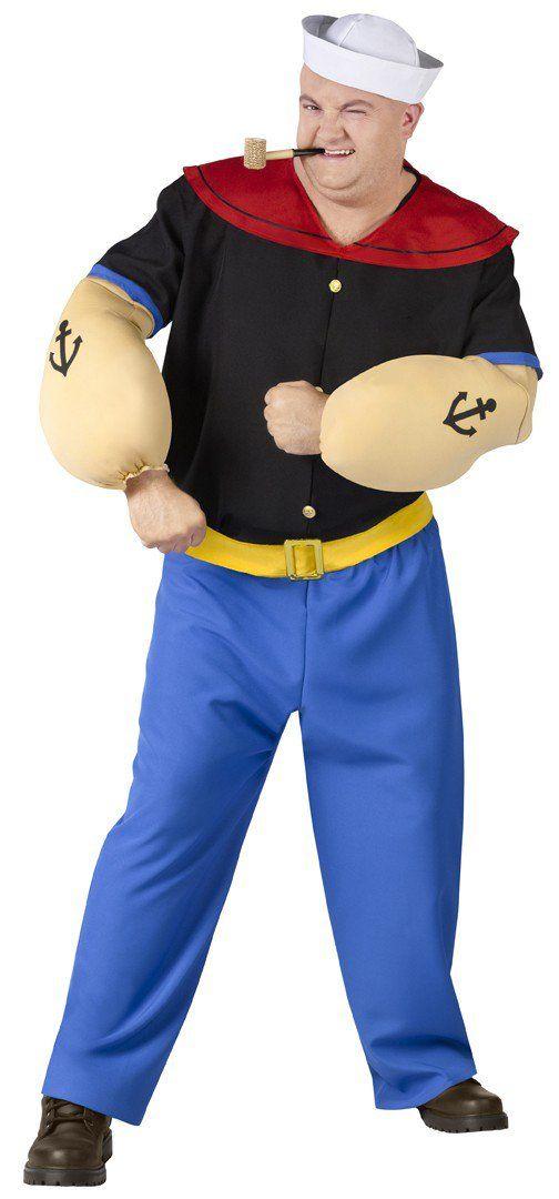 Popeye Movie Plus Size Costume - He's Popeye the Sailor Man!!!