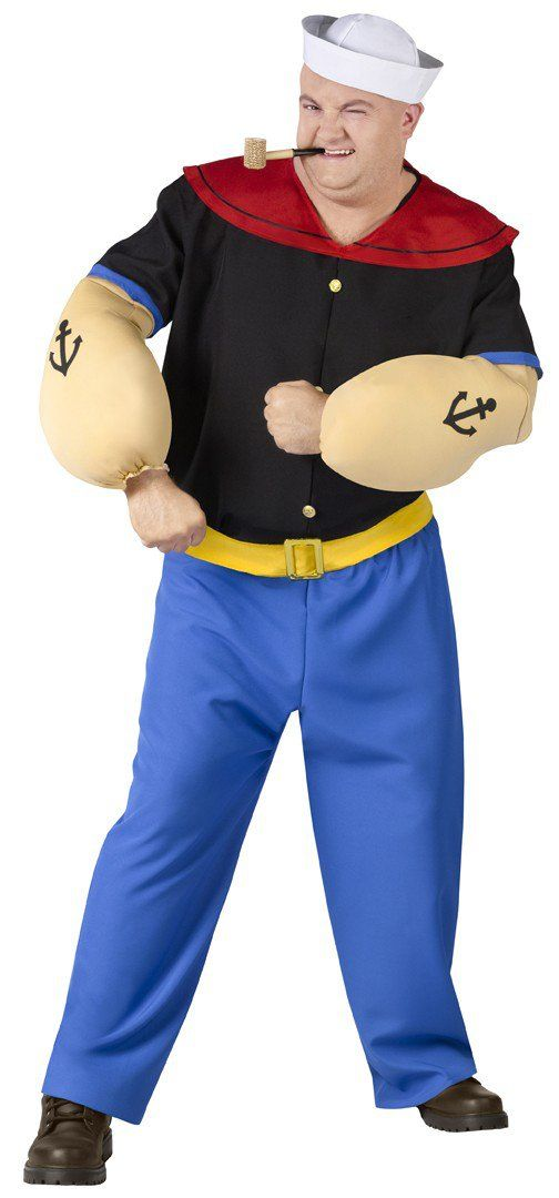 Popeye Movie Plus Size Costume - He's Popeye the Sailor Man!!!