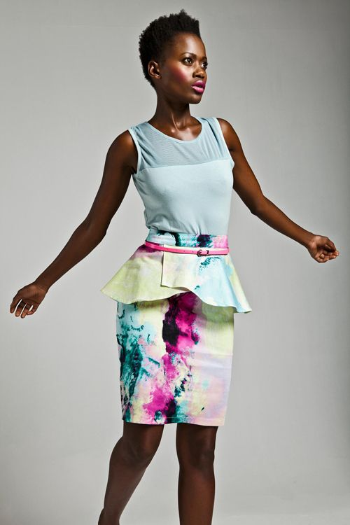 Cleo Droomer for Mr Price  Peplum-Skirt