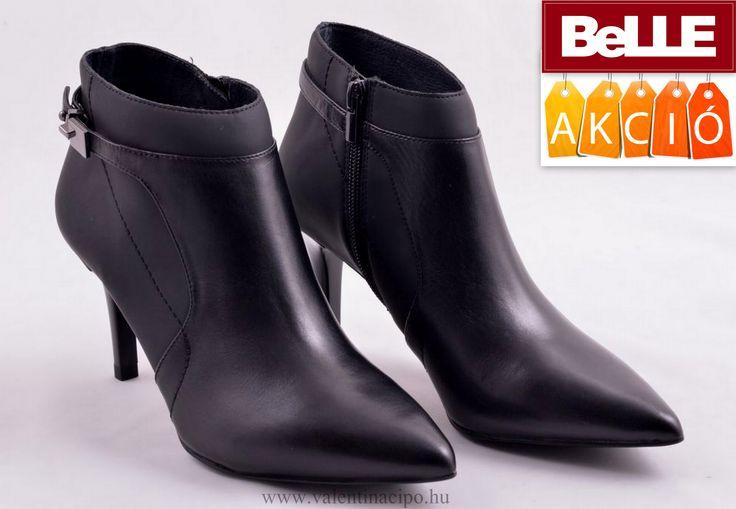 Egy igazán gyönyörű BeLLE női bokacipő, divatos és minőségben is tökéletes! A Valentina Cipőboltokban és webáruházunkban a legtöbb BeLLE lábbeliből vásárolhat! Csak egy kattintás :)  http://valentinacipo.hu/belle/noi/fekete/bokacipo/140105139  #belle #belle_cipő #belle_cipőbolt #belle_webshop